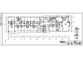 某15层宾馆给排水消防竣工图