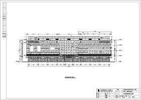 某地综合楼4层商场室内外装修幕墙施工图