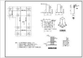鋼框架結構樓梯結構設計施工圖(包括大樣圖)