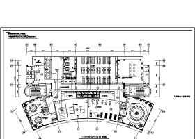 高层办公楼弱电智能化系统施工图