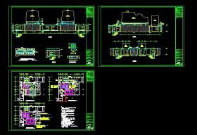 某柴油发电机房设计全套cad施工图纸