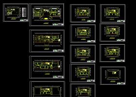 十二層大廈照明及電視監控系統電氣畢業設計(設計說明、附件、圖紙封皮、外文翻譯、目錄、摘要、、指導教師評審表、評閱人評審表、答辯提問、成績匯總表、)