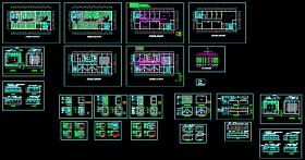 群?#23637;軰TV包房装修CAD施工设计平面图