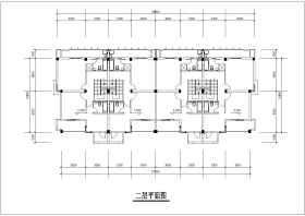 某地联排别墅建筑设计图(带效果图)