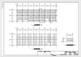 某二层钢结构厂房结构施工图纸