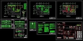 某空调机房全套cad平面设计施工图(含设计说明)