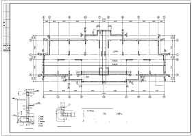 高层住宅楼建筑结构cad施工图