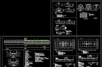 完整道路结构cad设计方案施工图(含设计说明)