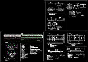 完整道路結構cad設計方案施工圖(含設計說明)