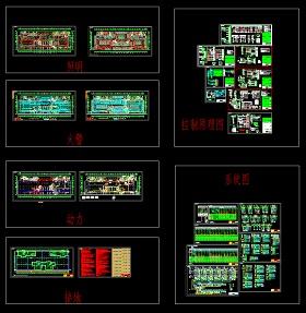 cad画电气图纸_某高层住宅楼地下车库电气设计CAD图纸_CAD图库 【建库图纸】