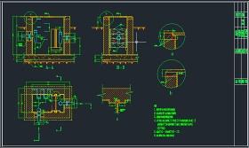 某建筑工程食堂隔油池设计图