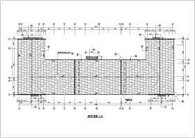观光农业园餐厅扩展工程建筑施工设计CAD图纸