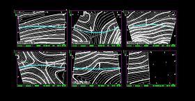 精選五套公路全套畢業設計CAD圖紙
