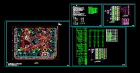 园林景观照明施工灯设计CAD详图