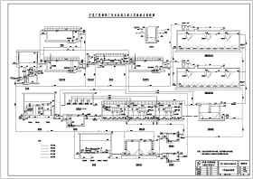 广夏制药厂污水处理工艺流程图(UASB、SBR工艺)
