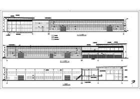 某汽车4S店建筑设计图纸