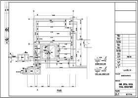 某酒厂污水处理CAD施工图(UASB池)