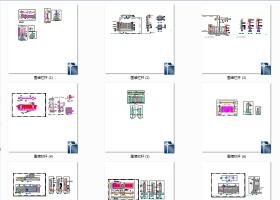 园林景观小品围墙栏杆CAD设计施工图(共120张)