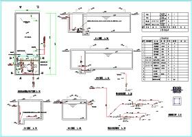 200立方消防水池及消防泵房详图