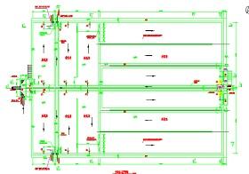 4万吨每天A2O污水厂污水处理全套施工图纸