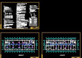 医院办公楼多联机系统设计cad施工图(含设计说明)