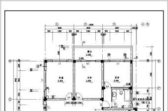花园精品别墅建筑设计施工图