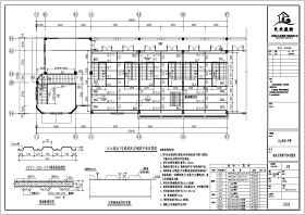 某地二層商鋪鋼結構夾層和鋼樓梯圖紙施工圖