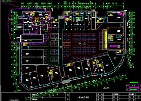 4000平米超市监控设计图