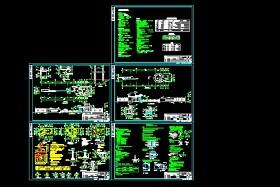 某地区某公司传达室大门设计cad建施图