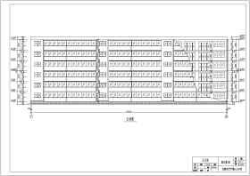 房屋建筑學優秀課程設計住宅樓建筑方案圖