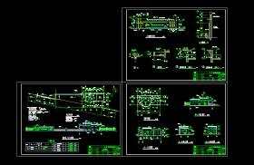 某工厂厂房大门设计cad建筑施工图