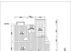 一套完整家装室内设计cad施工图含效果图