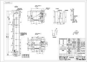 1000公斤无机房电梯布置图