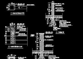 2018最新整理近50款园林景观围墙设计全套cad设计施工图