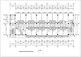 多層綜合樓空調風機盤管加新風系統設計施工圖