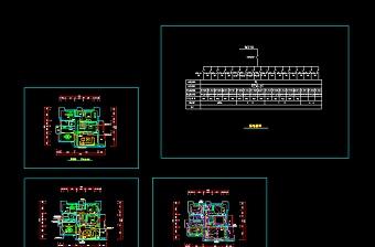 某家装电路cad设计施工方案图纸