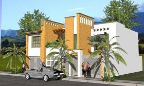 个人住宅建筑方案(别墅)图片