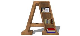 现代家居卧室su模型综合效果图