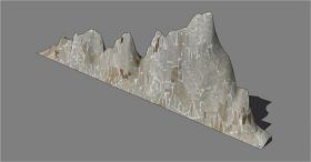 景观素材假山石头SU草图大师skp模型