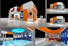 联通展厅设计
