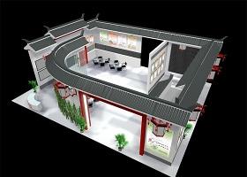 上海朝翔生物展厅下载