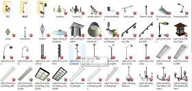 su模型燈具