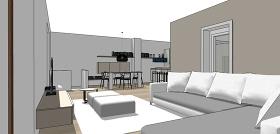 現代家居臥室su模型綜合效果圖