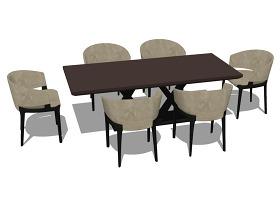桌椅子綜合模型