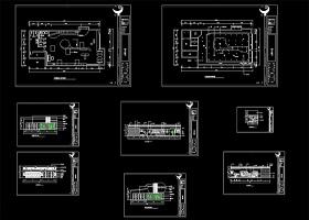 原创服装店CAD装修方案图
