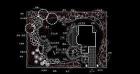 原創小庭院園林設計圖