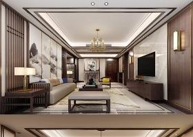 原创全套新中式家装CAD施工图效果图-版权可商用