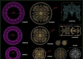 原创整木定制设计师素材CAD图库-版权可商用