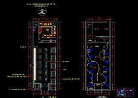 原创快餐店全套的CAD设计-版权可商用