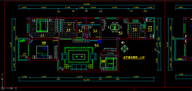 原创室内装修电路CAD施工图纸设计下载-版权可商用